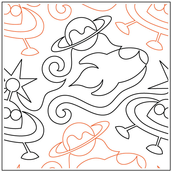 Space-Race-quilting-pantograph-pattern-Naomi-Hynes-1