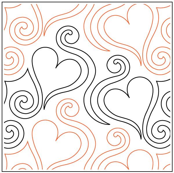 Love-Dance-quilting-pantograph-pattern-Naomi-Hynes