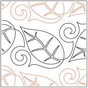 Divine-Leaves-quilting-pantograph-pattern-Naomi-Hynes