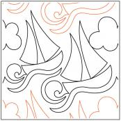 Lets-Go-Sailing-quilting-pantograph-pattern-Naomi-Hynes