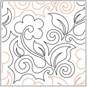 Morrow-Blossoms-quilting-pantograph-pattern-Naomi-Hynes