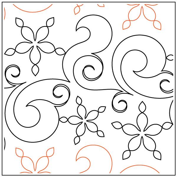 Fresh-Snow-quilting-pantograph-pattern-Natalie-Gorman-1