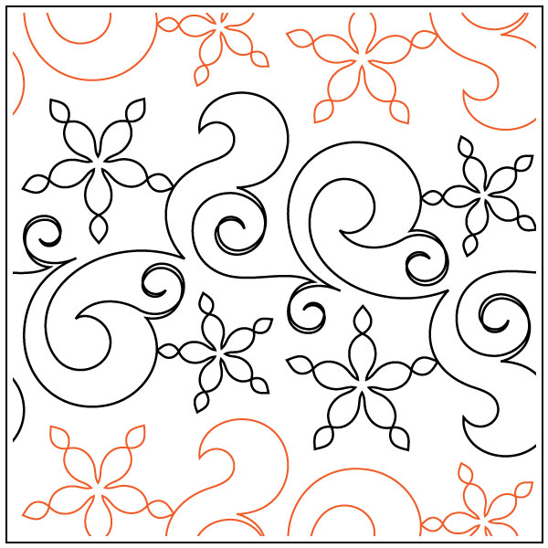 Fresh-Snow-quilting-pantograph-pattern-Natalie-Gorman-2