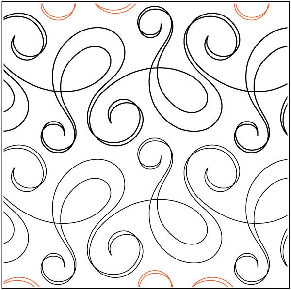 Bossa-Nova-quilting-pantograph-pattern-Natalie-Gorman