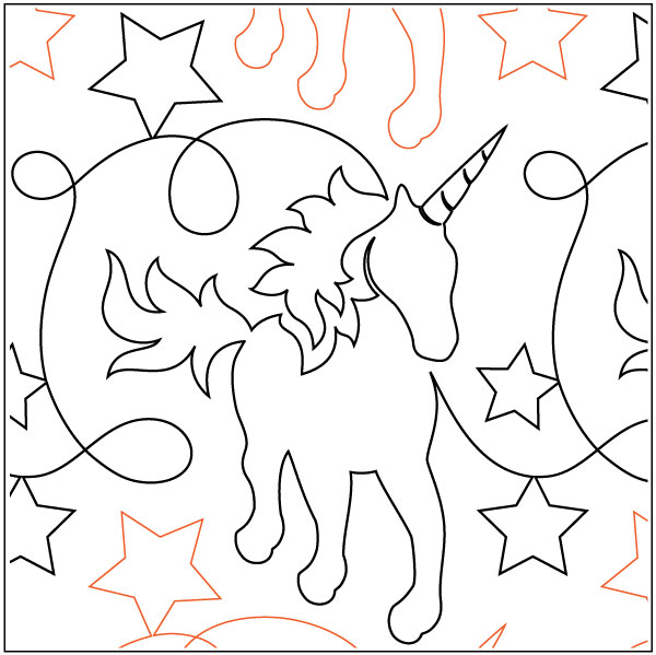 Unicorns-and-Glitter-quilting-pantograph-pattern-Natalie-Gorman-1