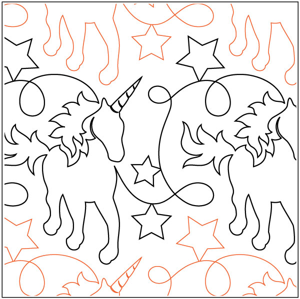 Unicorns-and-Glitter-quilting-pantograph-pattern-Natalie-Gorman-2