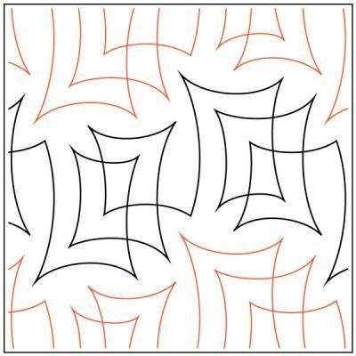 parchment-quilting-pantograph-pattern-Natalie-Gorman