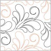 Alouette quilting pantograph pattern by Natalie Gorman