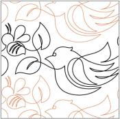 Birds-and-bees-quilting-pantograph-pattern-Natalie-Gorman