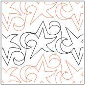 Blue-Star-Petite-quilting-pantograph-pattern-Natalie-Gorman
