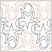 Blue-Star-quilting-pantograph-pattern-Natalie-Gorman
