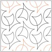Calder quilting pantograph pattern by Natalie Gorman
