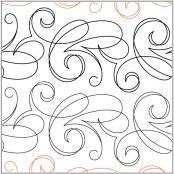 Cirque-quilting-pantograph-pattern-Natalie-Gorman