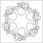 Crisp-Apples-Block-quilting-pantograph-pattern-Natalie-Gorman