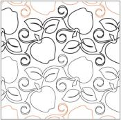 Crisp-Apples-quilting-pantograph-pattern-Natalie-Gorman