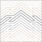 Deco-Arrow-quilting-pantograph-pattern-Natalie-Gorman