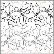 Feliz-Navidad-Border-quilting-pantograph-pattern-Natalie-Gorman