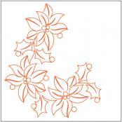 Feliz-Navidad-Corner-quilting-pantograph-pattern-Natalie-Gorman-1