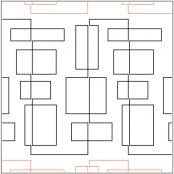 Hip-to-be-Square-quilting-pantograph-pattern-Natalie-Gorman-1