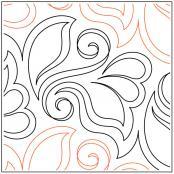 Orchids-quilting-pantograph-pattern-Natalie-Gorman