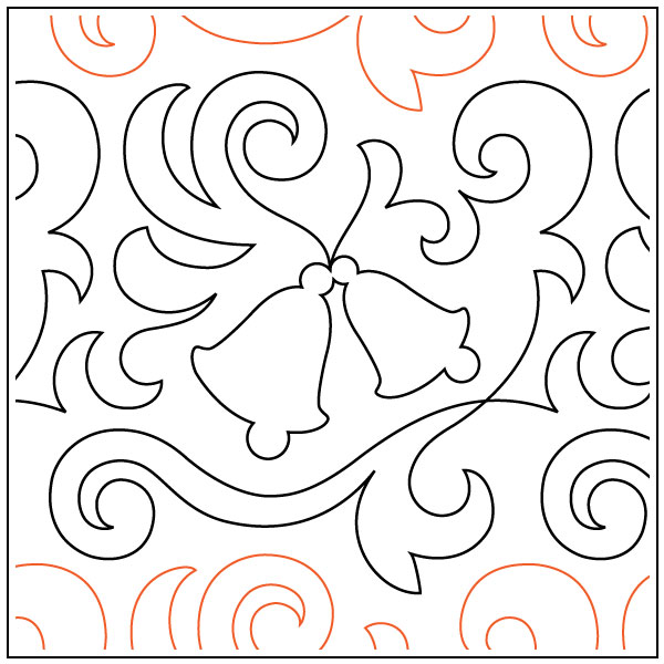 Winter-Bells-quilting-pantograph-sewing-pattern-OESD-2