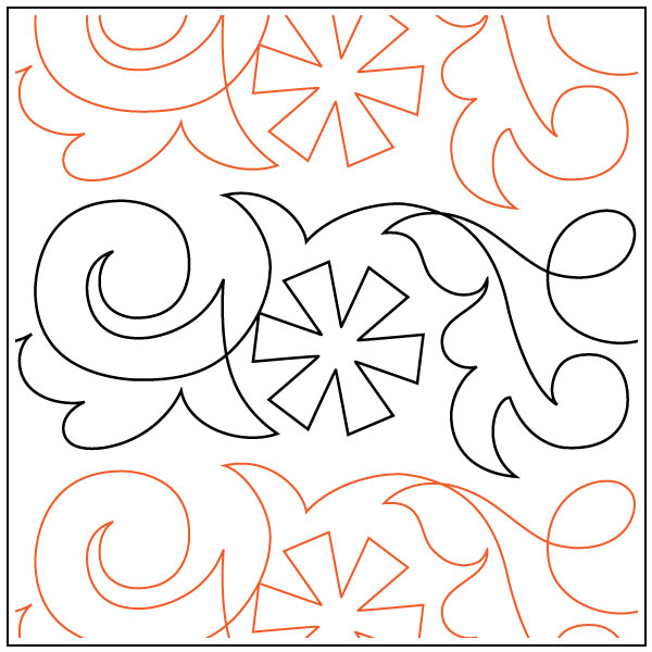 Winter-Snow-Petite-quilting-pantograph-sewing-pattern-OESD