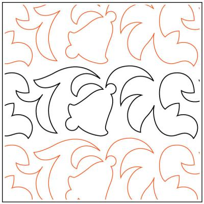 Winter-Bells-Petite-quilting-pantograph-sewing-pattern-OESD
