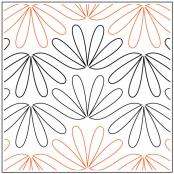Ming quilting pantograph pattern by Sarah Ann Myers 1