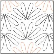 Ming quilting pantograph pattern by Sarah Ann Myers