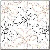 Netting quilting pantograph pattern by Sarah Ann Myers