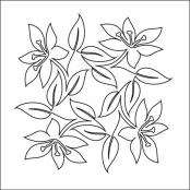 Easter-Lily-Block-2-quilting-pantograph-sewing-pattern-sarah-ann-myers