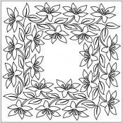 Easter-Lily-Block-4-quilting-pantograph-sewing-pattern-sarah-ann-myers