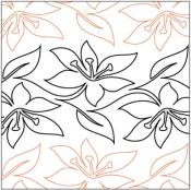 Easter-Lily-Petite-quilting-pantograph-sewing-pattern-sarah-ann-myers