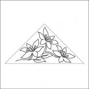 Easter-Lily-Triangle-Block-1-quilting-pantograph-sewing-pattern-sarah-ann-myers