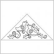 Four-Calling-Birds-Triangle-Block-quilting-pantograph-sewing-pattern-sarah-ann-myers