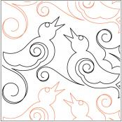 Four-Calling-Birds-quilting-pantograph-sewing-pattern-sarah-ann-myers