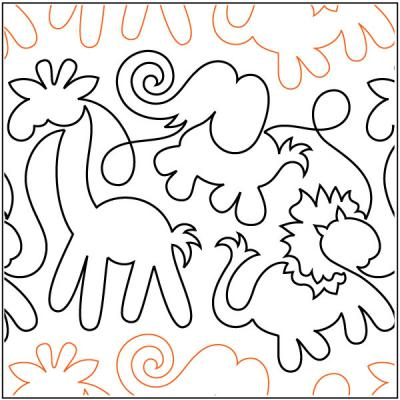 Animal-Crackers-quilting-pantograph-pattern-Patricia-Ritter-Urban-Elementz
