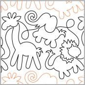 Animal Crackers pantograph pattern by Patricia Ritter of Urban Elementz 1