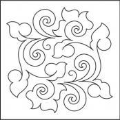 Honeysuckle-Block-quilting-pantograph-pattern-Patricia-Ritter-Urban-Elementz.jpg