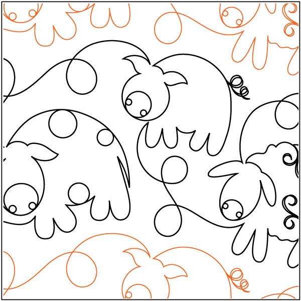 Mo-ewe-and-piggy-2-quilting-pantograph-pattern-Patricia-Ritter-Urban-Elementz