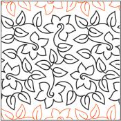 Meandering-Daffodil-quilting-pantograph-pattern-Patricia-Ritter-Urban-Elementz.jpg