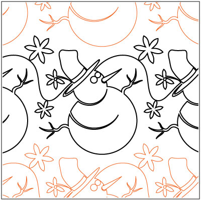 Snowmen-and-Snowflakes-quilting-pantograph-pattern-Patricia-Ritter-Urban-Elementz.jpg