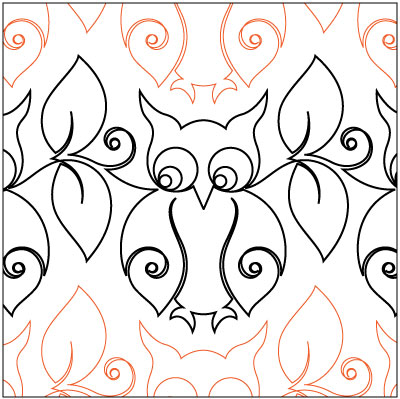 Snowy Owl Pantograph Pattern By Patricia Ritter Of Urban