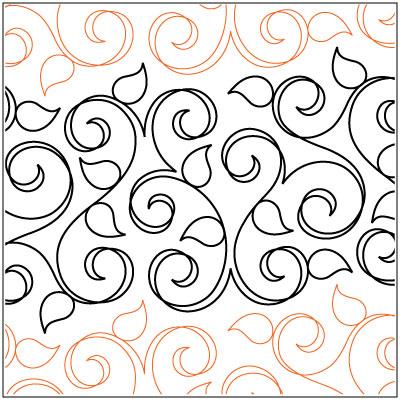 Trellis Quilting Pantograph Pattern Patricia Ritter Urban Elementz
