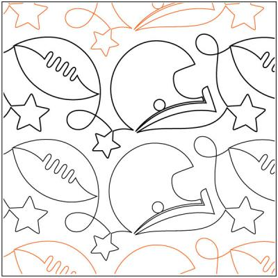 Touchdown-quilting-pantograph-pattern-Patricia-Ritter-Urban-Elementz