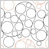Whole-Lotta-Bubbles-quilting-pantograph-pattern-Patricia-Ritter-Urban-Elementz