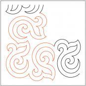Bourbon-Street-Baby-Corner-quilting-pantograph-pattern-Patricia-Ritter-Urban-Elementz-1