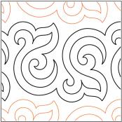 Bourbon-Street-Baby-quilting-pantograph-pattern-Patricia-Ritter-Urban-Elementz