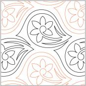 Persian-Paisley-quilting-pantograph-pattern-Patricia-Ritter-Urban-Elementz