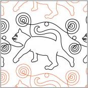 Quilting-4-Pawz-Catz-quilting-pantograph-pattern-Patricia-Ritter-Urban-Elementz
